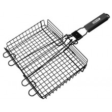 Grill Pro Non-Stick Broiler Basket w/detachable handle