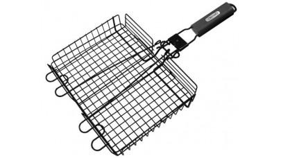 Grill Pro Non-Stick Broiler Basket w/detachable handle