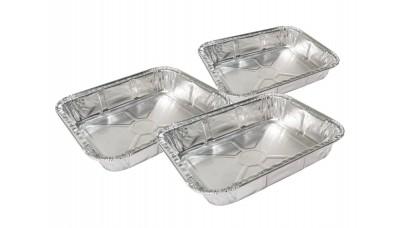 Grill Pro Aluminium Roasting Pans 3 Pack