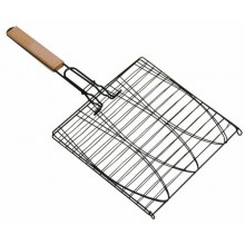 Grill Pro Non Stick Triple Fish Basket