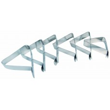 Grill Pro Stainless Steel Table Cloth Clips