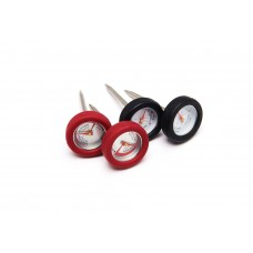 Grill Pro 4 Mini Thermometers w/ Silicone Bezel