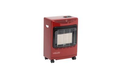 Lifestyle Mini Portable Gas Heater Red