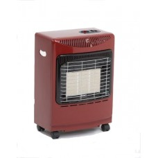 Lifestyle Mini Portable Gas Heater Red
