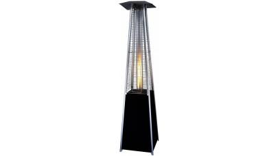 Lifestyle Tahiti II Real Flame Patio Heater in Black