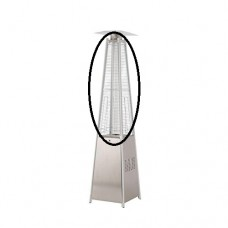 Flame Patio Heater Grill for Tahiti Flame Patio Heater (Stainless Steel, Black or LED Versions)