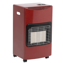 Lifestyle Seasons Warmth Portable Gas Heater in Red