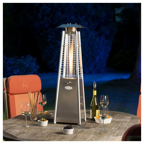 Lifestyle Chantico Stainless Steel Table Top Flame Heater