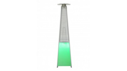 Lifestyle Tahiti Real Flame Patio Heater with LED Lighting