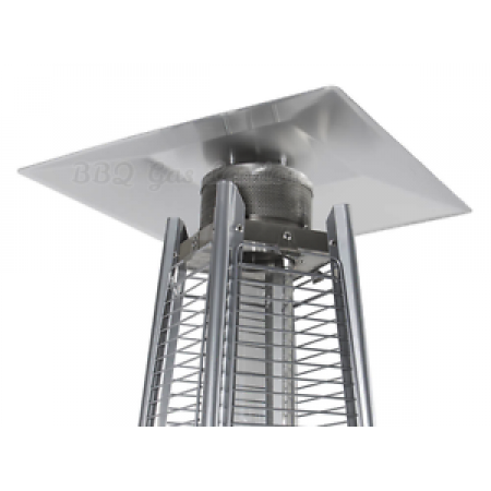 Flame Patio Heater Reflector for Tahiti Pyramid Heaters