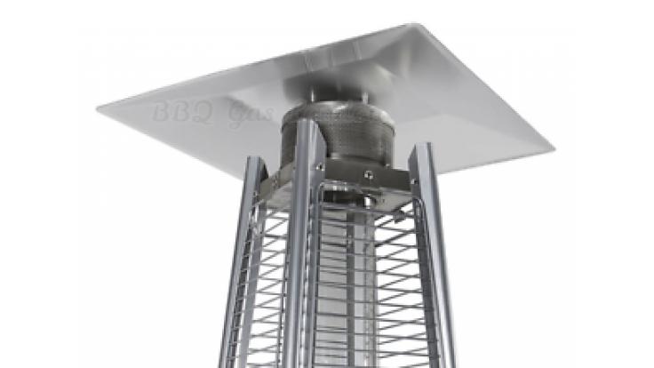 Flame Patio Heater Reflector for Tahiti Pyramid Heaters
