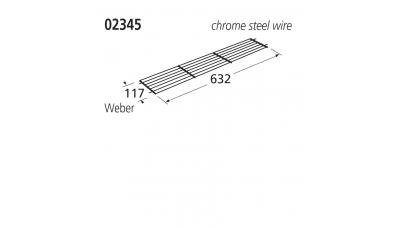 02345 BBQ Warming Rack - Weber