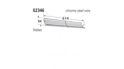 02346 BBQ Cradle Rack - Weber
