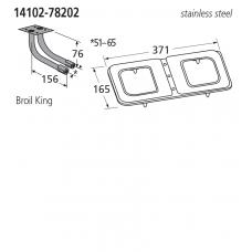 14102-78202 BBQ Burner - Broil King