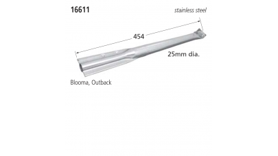 16611 BBQ Burner - Outback & Blooma