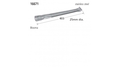 16671 BBQ Burner - Blooma