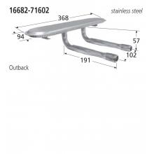 16682-71602 BBQ Burner - Outback