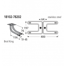 18102-78202 BBQ Burner - Sterling