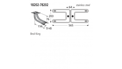 18202-78202 BBQ Burner - Broil King