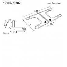 19102-79202 BBQ Burner - Fiesta