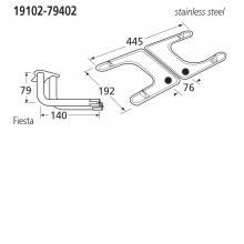 19102-79402 BBQ Burner - Fiesta