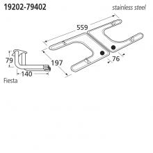 19202-79402 BBQ Burner - Fiesta