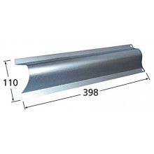 95511 Aluminized Steel Heat Plate for Blooma Brand Gas Grills - Silver