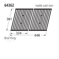 64362 BBQ Grill - Sterling/Broil King