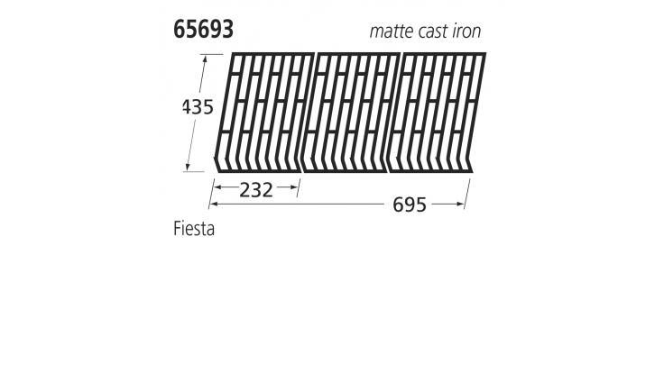 65693 BBQ Grill - Fiesta