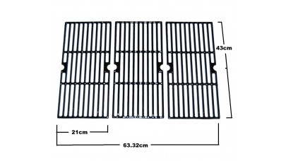 66123 Set of 3 BBQ Grills - Broil King