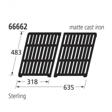 66662 BBQ Grill - Sterling
