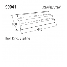 99041 BBQ Heat Plates - Sterling/Broil King