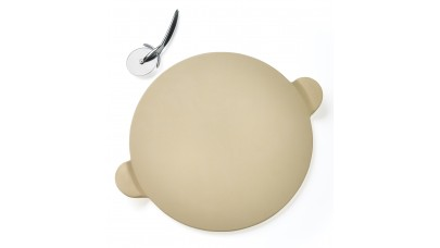 Napoleon Pizza Stone with Cutting Wheel - 70001