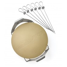 Napoleon Pizza Wheel with Skewers and Rack - 70002