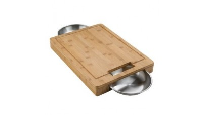 Napoleon Cutting Board with Bowls - 70012