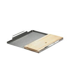 Napoleon Stainless Steel Multifuntional GrillTopper with Plank 70026