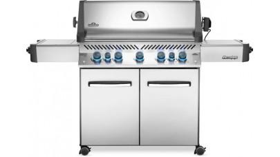 Napoleon Prestige P665RSIBPSS-GB Gas BBQ - Free Rotisserie