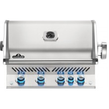 Napoleon Prestige BIPRO500RBNSS-3 Natural Gas Built In BBQ - Free Cover & Rotisserie