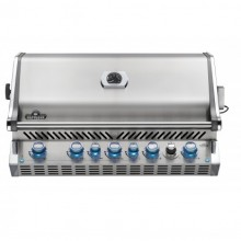 Napoleon Prestige BIPRO665RBNSS-3-GB Natural Gas Built In BBQ - Free Cover & Rotisserie