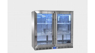 Napoleon Commercial Grade Outdoor Double Fridge NFR210ODGL-GB