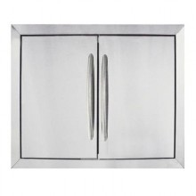 Napoleon Flush Mount Stainless Steel Double Door (Large) N370-0503-1