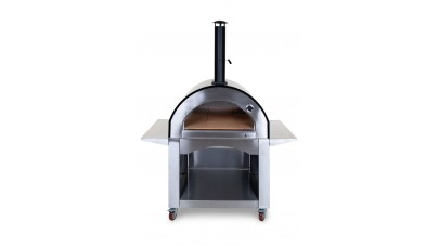 Alfresco Chef - Milano Pizza Oven - Black