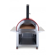 Milano Wood Fired Pizza Oven - Red