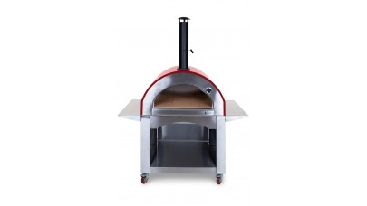 Alfresco Chef - Milano Pizza Oven - Red