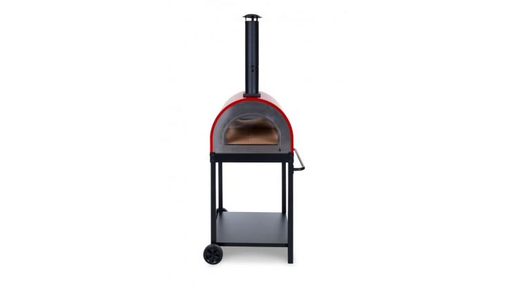 Alfresco Chef - Naples Pizza Oven - Red