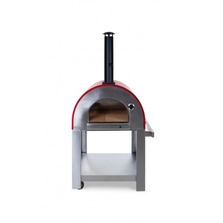 Verona Wood Fired Pizza Oven - Red