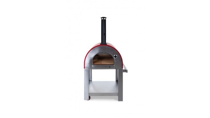 Alfresco Chef - Verona Pizza Oven - Red