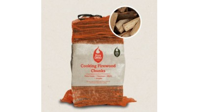 Green Olive Firewood - Cooking Firewood Chunks - 30 Litres