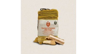 Green Olive Firewood - Kiln Dried Softwood Dry Logs - 30 Litres