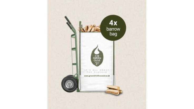 Green Olive Firewood - Kiln Dried Hardwood - 1.32 m3